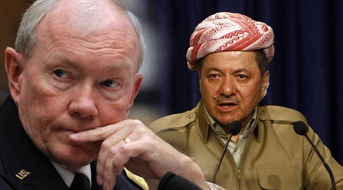 Demsey Barzani'yle buluştu