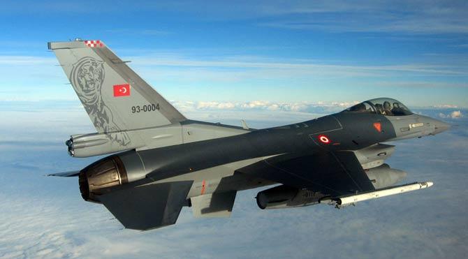 F-16'lar İHA'lar için kalktı!