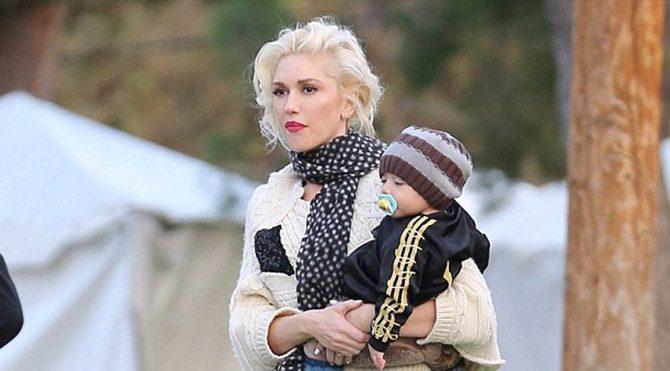 Gwen Stefani çocuk parkında