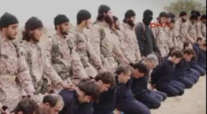 IŞİD'ten toplu infaz vahşeti