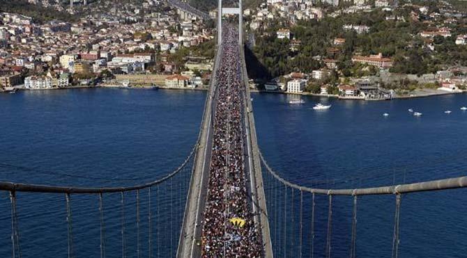 36. İstanbul Maratonu'nda birinci belli oldu