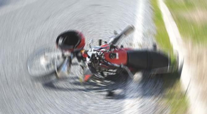 İzmir'de motosikletle kaza yapan kişi öldü
