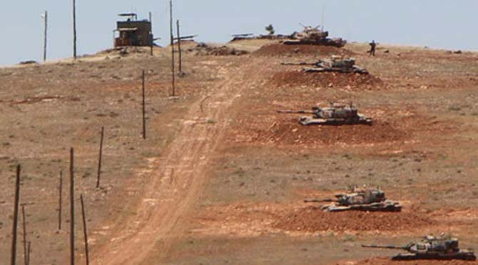 Suriye tarafından sınırdaki askere ateş açıldı!