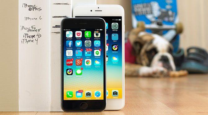 iPhone 6'lar yarışıyor!
