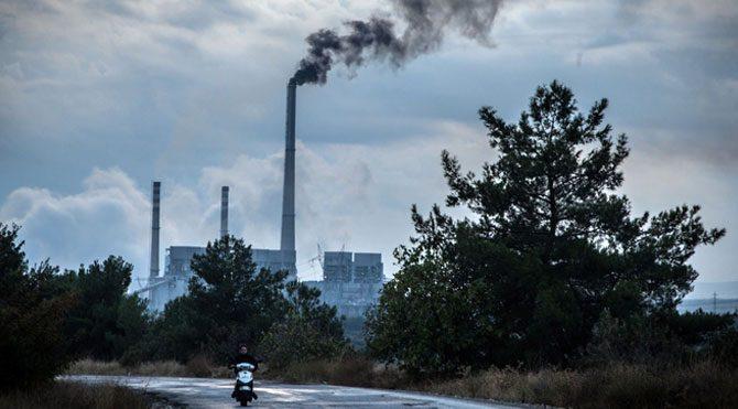 Yırca'da hava kirliliği