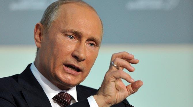 Putin ABD'yi sert bir dille uyardı