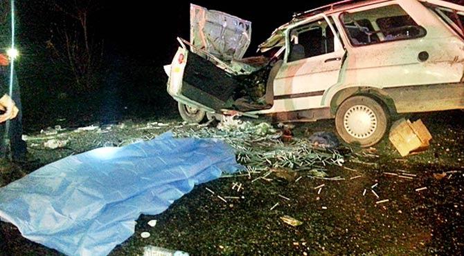 Bucak'ta kaza: 2 ölü 2 yaralı