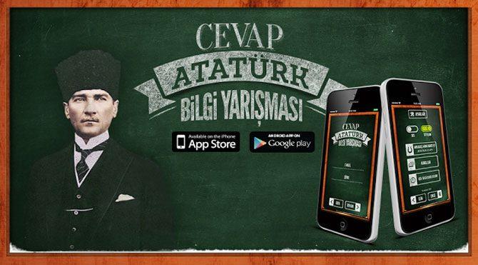 Cevap Atatürk, büyük ilgi gördü!