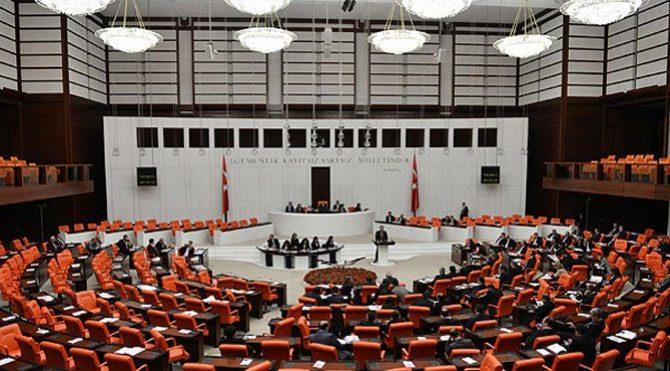Meclis'te haraç skandalı