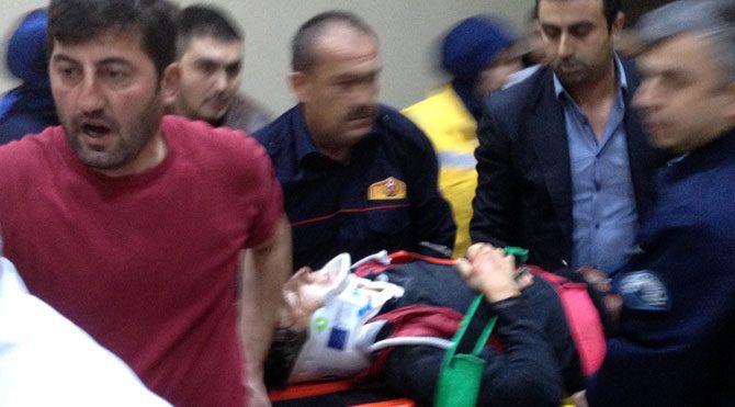 Sakarya'da asansör kazası