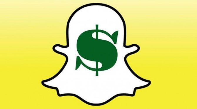 Snapchat'te para dönemi