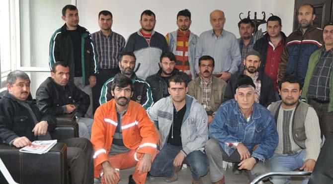 Işıklar maden ocağında 28 işçi işten çıkarıldı