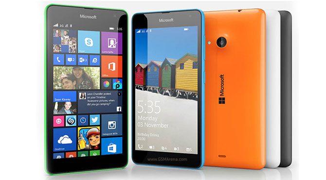 Microsoft Lumia 535'in fiyatı belli oldu