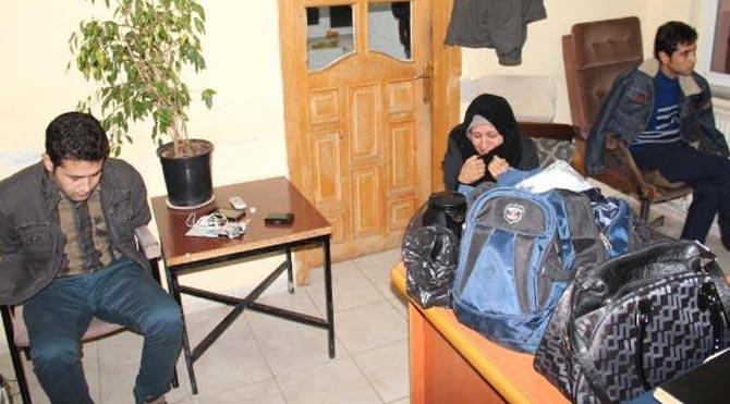 İran'lı yolcuların çantasından çıktı!