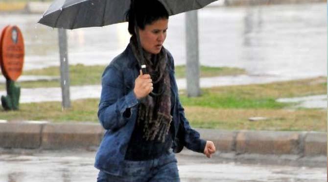Antalya'da yağışlı hava uyarısı