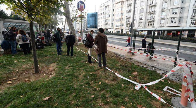 İBB'den Gezi Parkı'nda geri adım