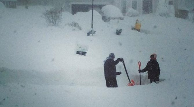 New York'ta kar kabusu: 4 ölü