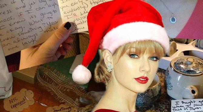 Taylor Swift'ten hayranlarına sürpriz