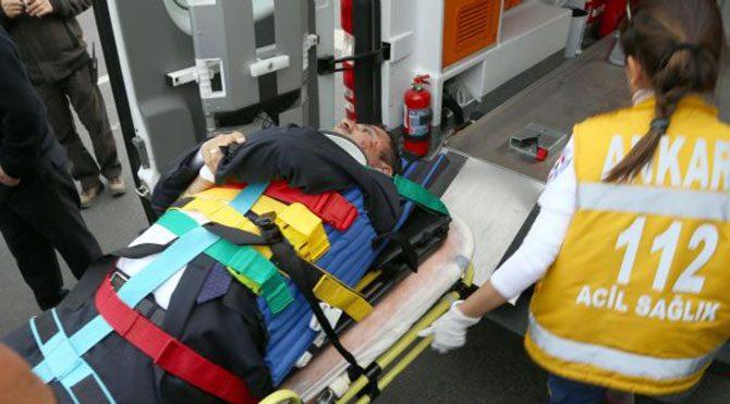 AKP'li vekil yaralandı!