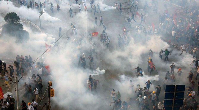 Gezi Parkı'ndakinin on iki katı!