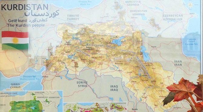 Avrupa'da Kürdistan modası