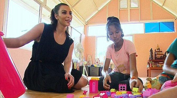 Evlatlığı Kardashian'ı reddetti