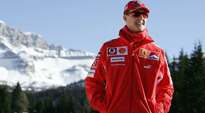 Michael Schumacher felç kaldı