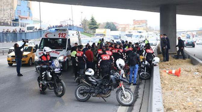 İstanbul'da 'polise saldırı' alarmı