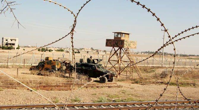 Suriye tarafından askere ateş açıldı