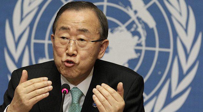 BM Genel Sekreteri Ban'dan 'Kudüs' uyarısı