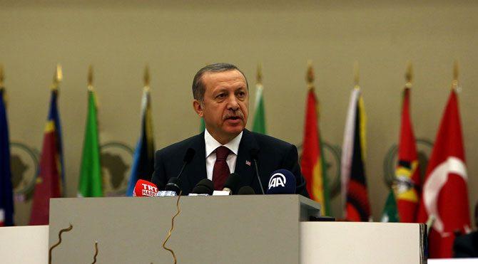 Erdoğan'dan Afrikalılara 'pararel' uyarısı!