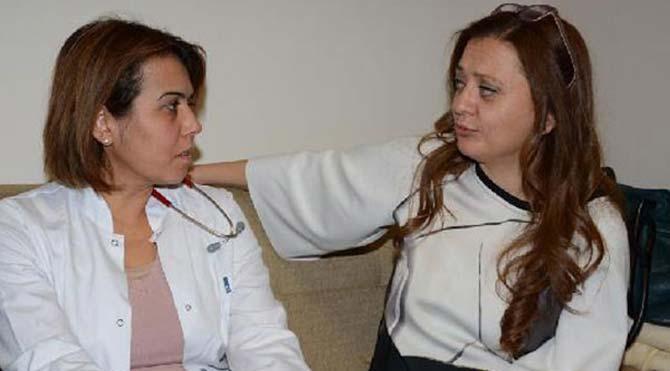 Hamile doktora kadınlardan saldırı