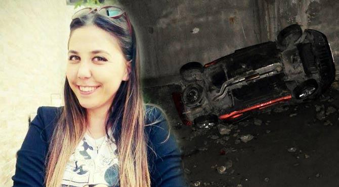 Araç 60 metreden uçtu: 1 ölü 2 yaralı