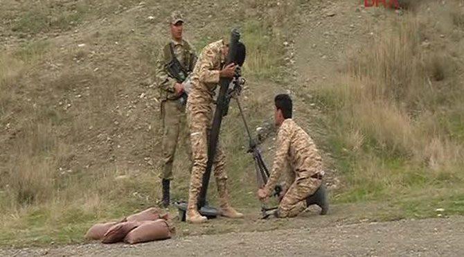 Türk askeri peşmergeyi eğitiyor