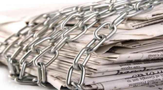 Cezaevlerinde muhalif gazete yasağı!