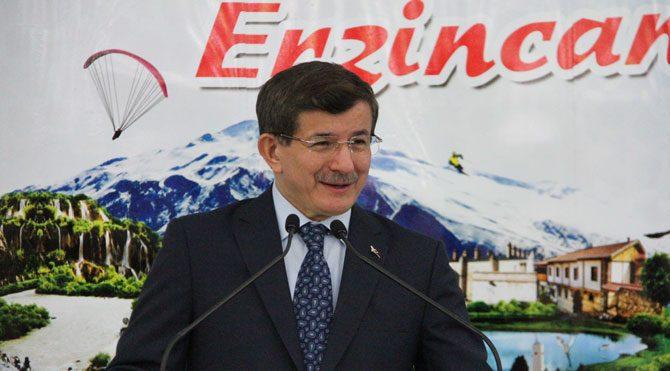Başbakan Davutoğlu Erzincan'da!