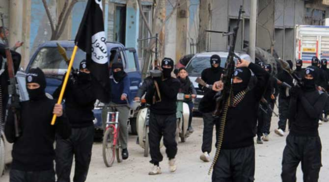 IŞİD militanları harekete geçti