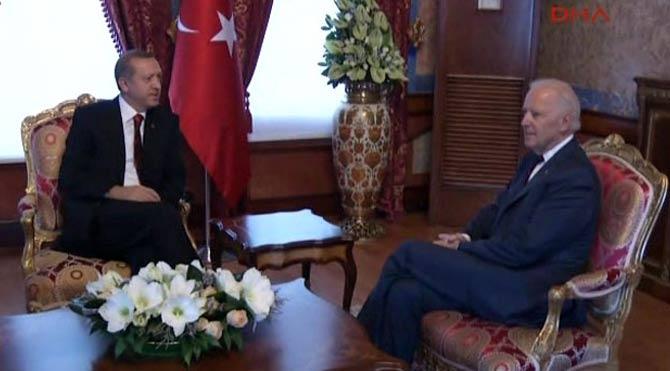 Biden, Erdoğan ile görüştü