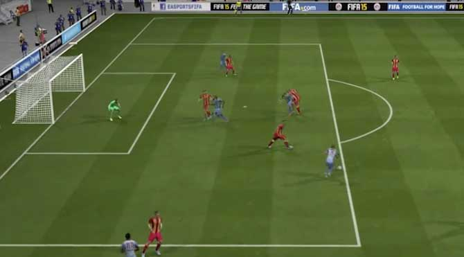 FIFA 2015'ten Dev derbi için özel video