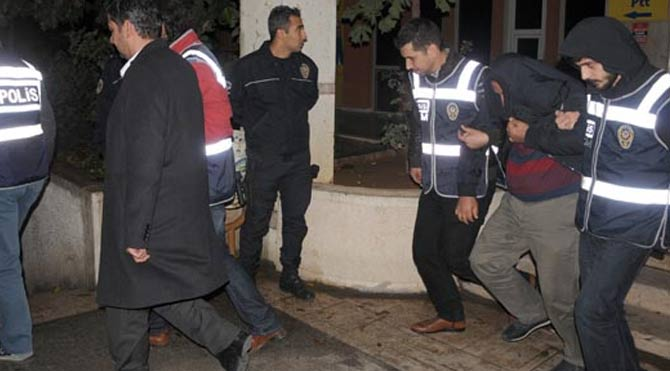 Artuklu'da 5 tutuklama!