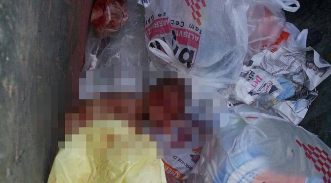 Çöpten bebek cesedi çıktı