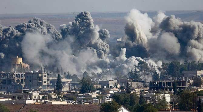 IŞİD Kobani'de köyleri satıyor