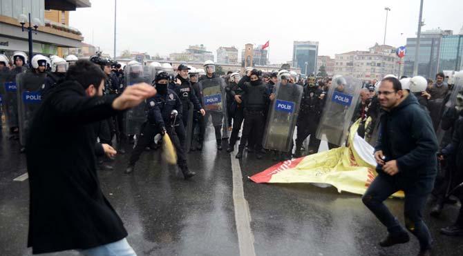Gezi Parkı'nda müdahale!