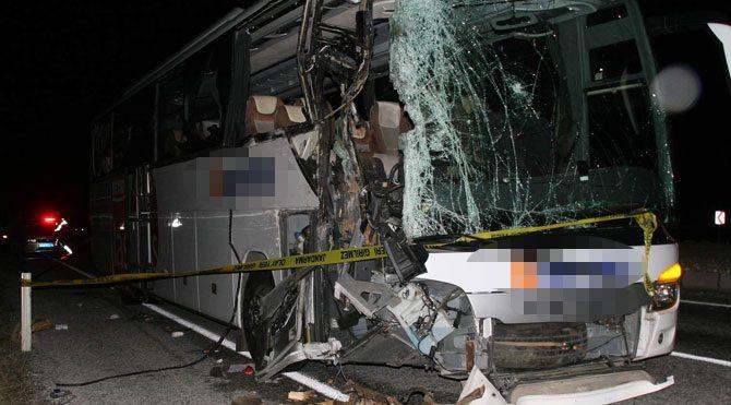 Yozgat'ta kaza: 1 ölü, 5 yaralı