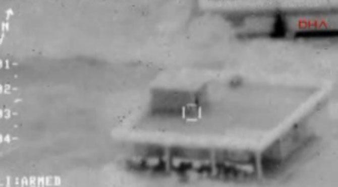 IŞİD böyle bombalandı