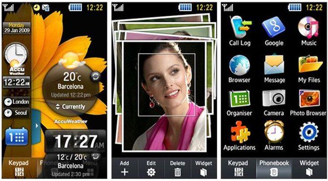 Samsung TouchWiz'e tema özelliği