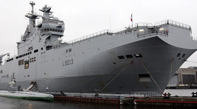Rusya ve Fransa arasında savaş gemisi krizi