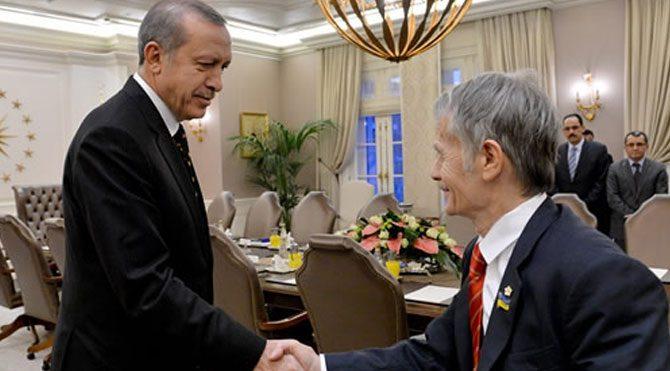 Erdoğan, Kırımoğlu'nu kabul etti