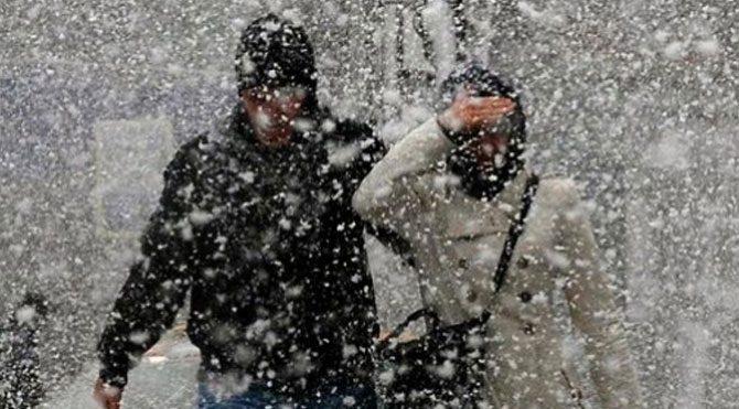 Meteoroloji uyardı! Kuvvetli kar bastıracak!