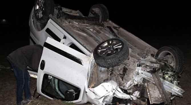 Beypazarı'nda feci kaza